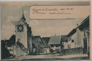 Courrendlin, Souvenir de - animée