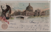 Official Souvenir Postal World's Columbian Exposition Chicago Government Building