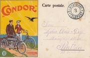COURFAIVRE - PUBLICITE CYCLES CONDOR - VELO - BICYCLETTE - CYCLISME Velo - Moped